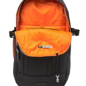 New EASTPAK Lap Extrafloid Black Orange Backpack